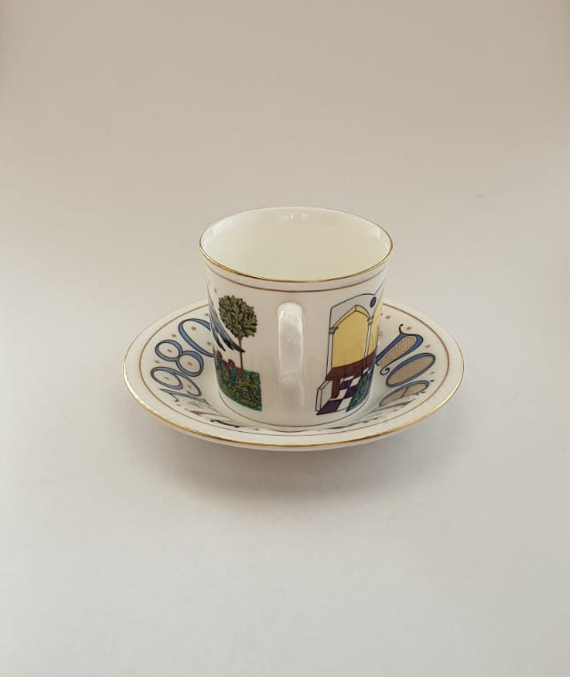 Vintage Royal Doulton The Annunciation Christmas Cup And Saucer Collectable Curios